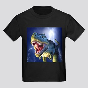 T-Rex 5 Kids Dark T-Shirt